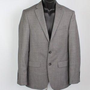 JOS A BANK Travelers gray wool blazer sport coat